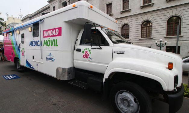 Clínica Móvil del DIF Tampico Atenderá  este Martes en Colinas de San Gerardo