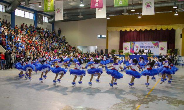 Gran Colorido en el  Concurso de  Rondas Infantiles del Sistema DIF Tampico