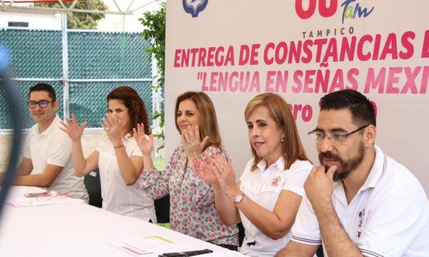 Promueve DIF Tampico una Cultura de Mayor Inclusión en la Sociedad