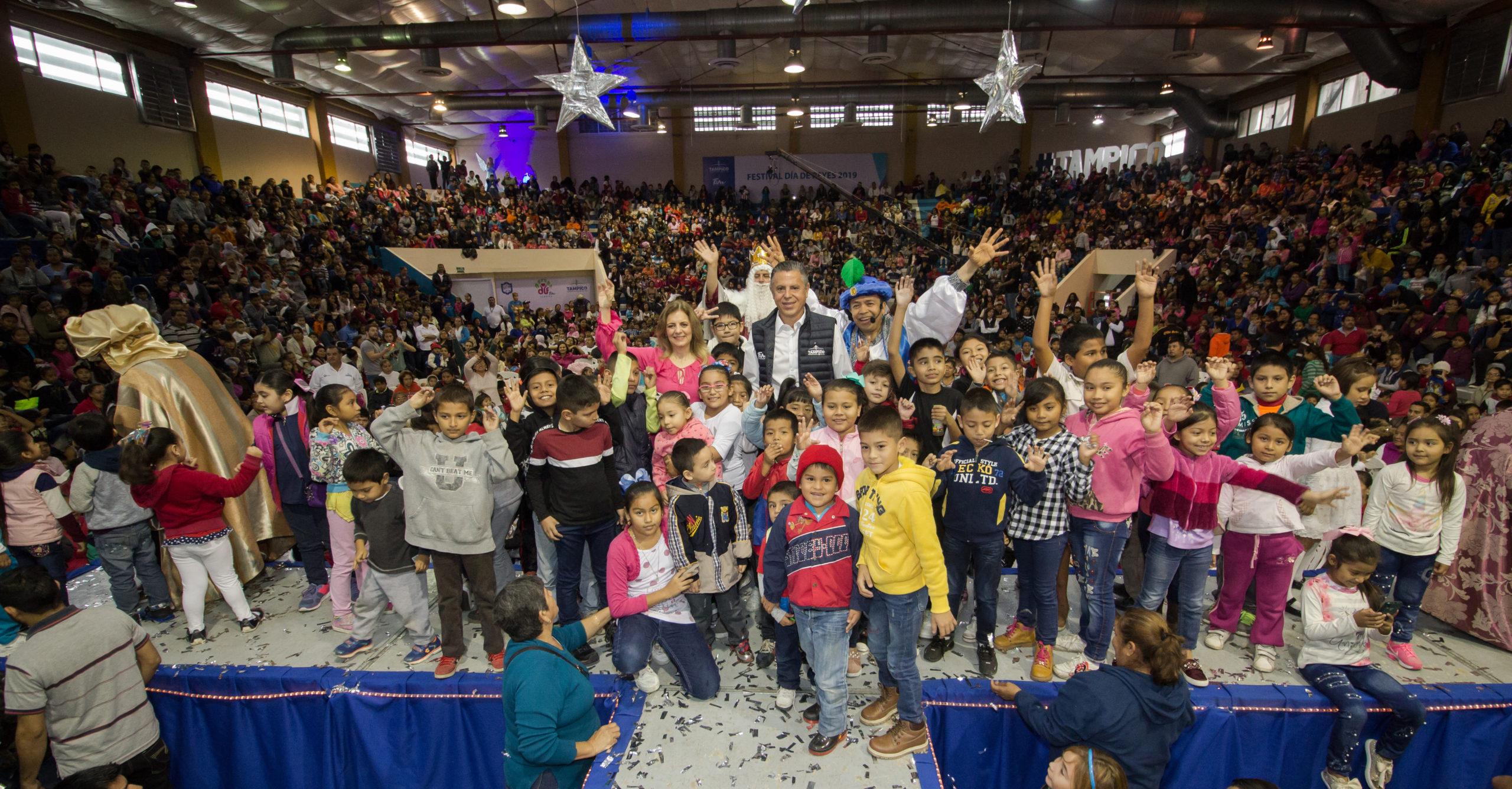 Invita DIF Tampico a Celebración de Día de Reyes