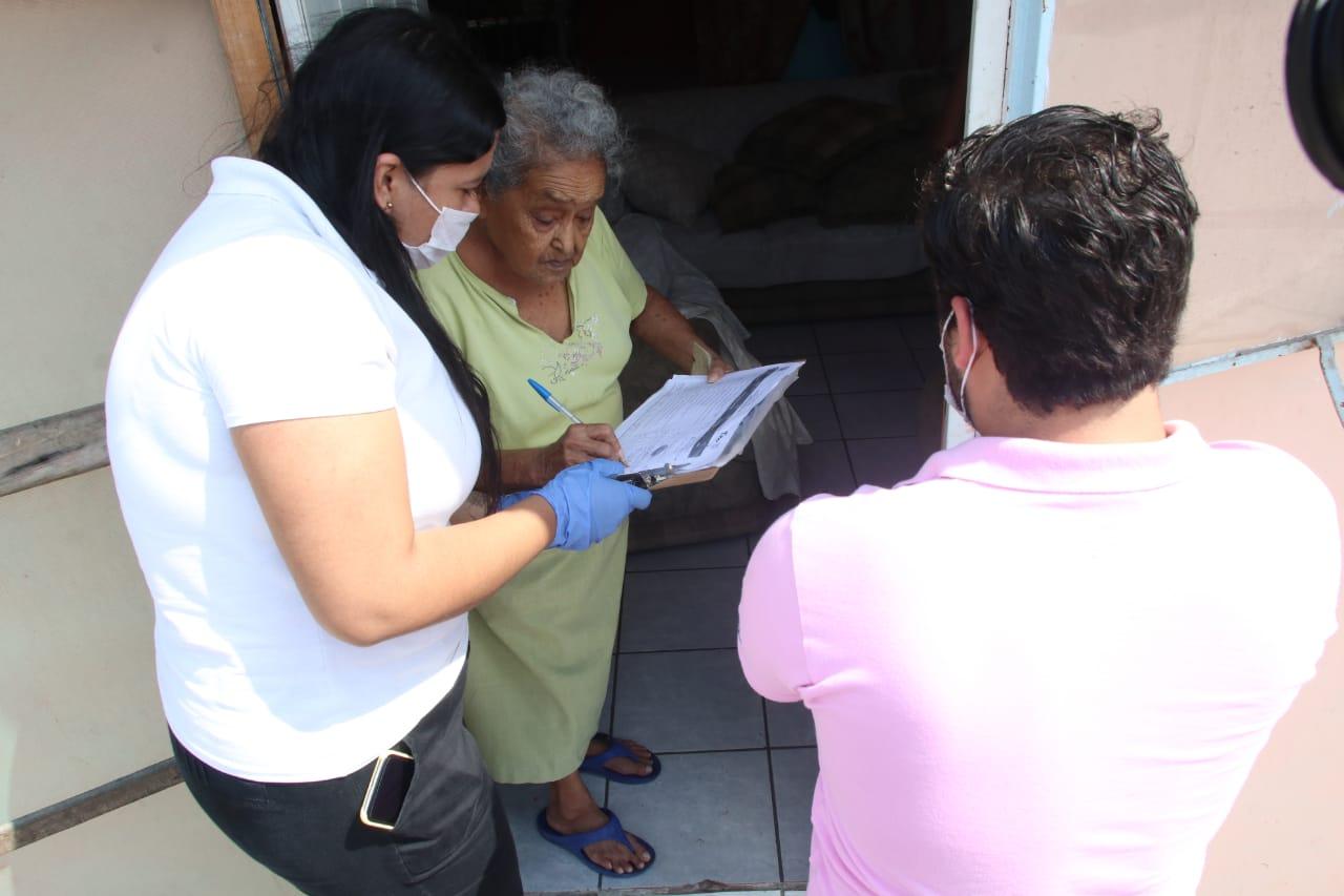 Ante la Contingencia Sanitaria DIF Tampico Entrega Despensas a Domicilio
