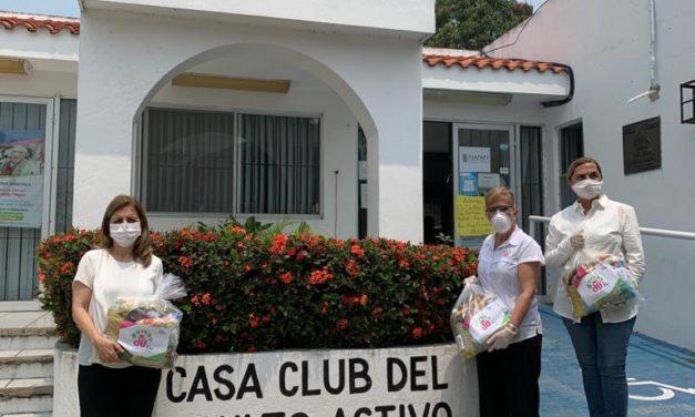 Inicia DIF Tampico Nueva Entrega de Despensas a los Adultos Mayores