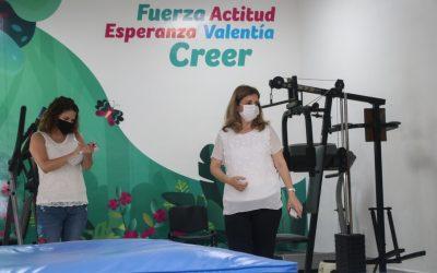 Continúan los Trabajos de Rehabilitación del CRI en Tampico