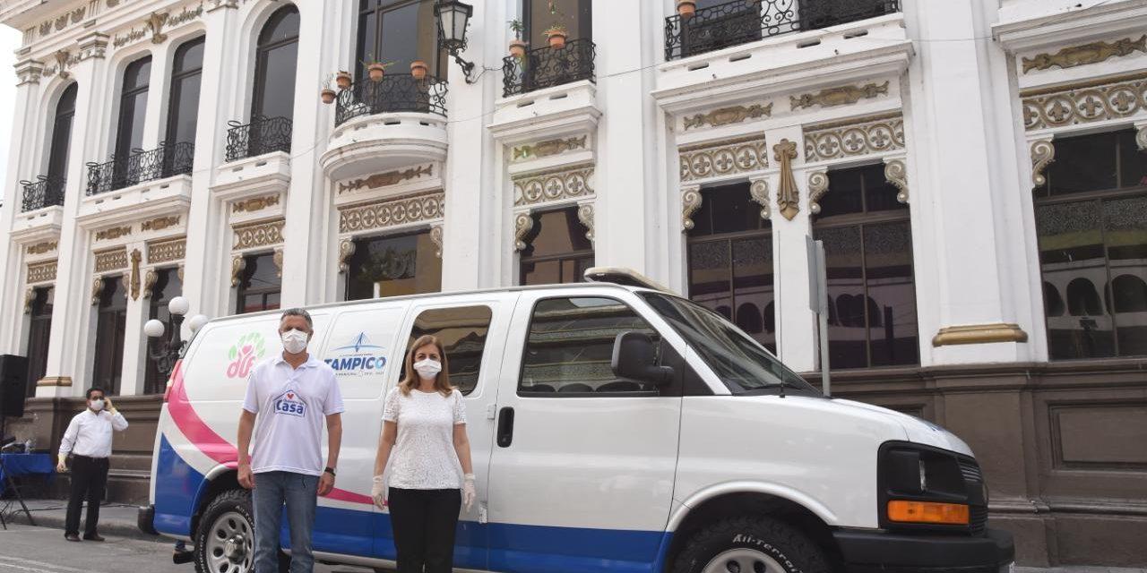 Pone en Operación DIF Tampico  Servicio de Traslados en Ambulancia