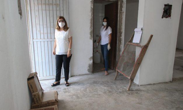 Sin Interrupciones la Construcción de los nuevos  Espacios de Atención a los Adultos Mayores del DIF Tampico