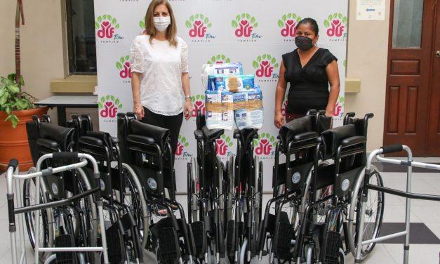 Atiende DIF Tampico Necesidades de Personas con Discapacidad