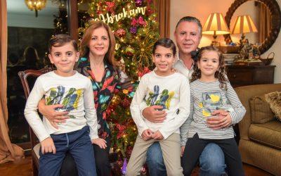 Desean Chucho Nader y Aída Féres una Navidad Feliz, Segura y en Paz a las Familias Tampiqueñas